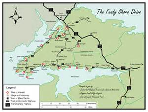 bay of fundy tourist map bay of fundy scotia mappery
