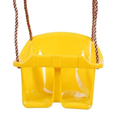 siege balancoire bebe si 232 ge balan 231 oire b 233 b 233 avec corde r 233 glable jaune achat