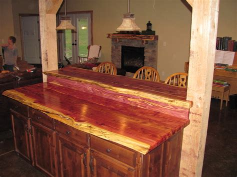 Cedar Bar Top by Cedar Bar And Counter Top By Cedarcanoeman Lumberjocks