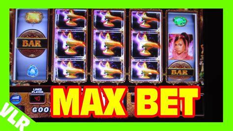 genie wishes max bet small win slot machine bonus