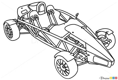 supercar drawing how to draw ariel atom 500 supercars how to draw