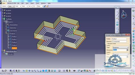 rectangular pattern catia sketch catia v5 powerful tricks collection 108 using profile