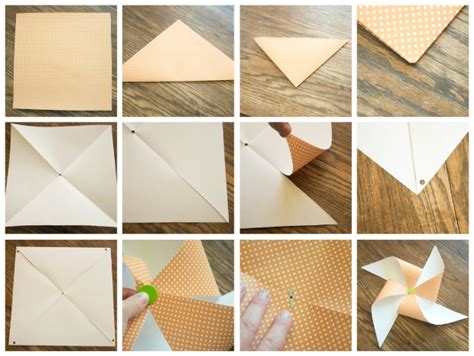 How To Make A Paper Pinwheel Step By Step - r 252 zgar g 252 l 252 yap箟m箟 benim k 252 231 252 k at 246 lyem