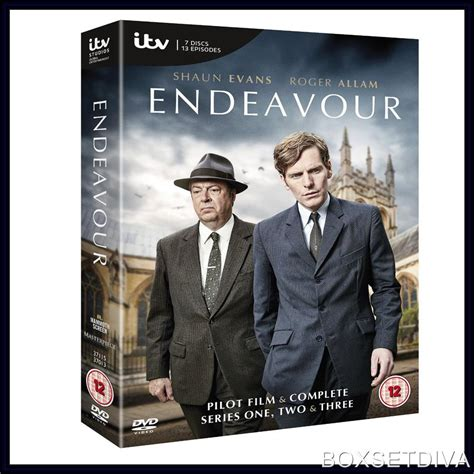 A Brand New Endeavor by Endeavour Complete Series 1 2 3 Brand New Dvd Boxset