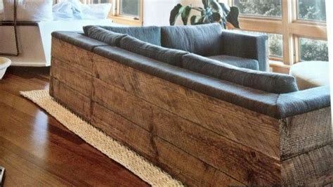 rustic sectionals raw wood framed rustic sectional for the home pinterest