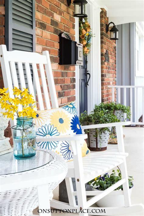 summer porch decor 35 colorful porch ideas lolly