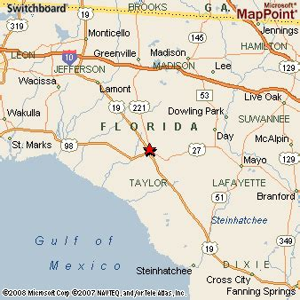 map of perry florida perry florida