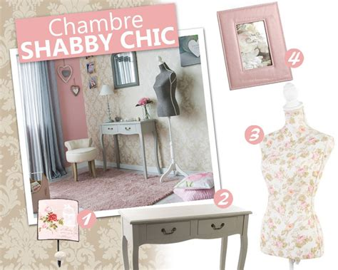 Deco Chambre Shabby Chic by D 233 Co Shabby Chic Pour Composer Une Chambre Cosy