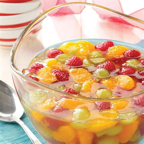 Cool With A Spicy Fruit Dessert by Sparkling Gelatin Salad Recipe Taste Of Home