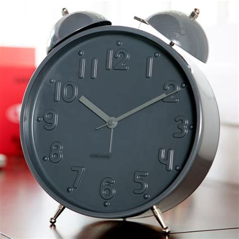 large twin bell alarm clock pbteen