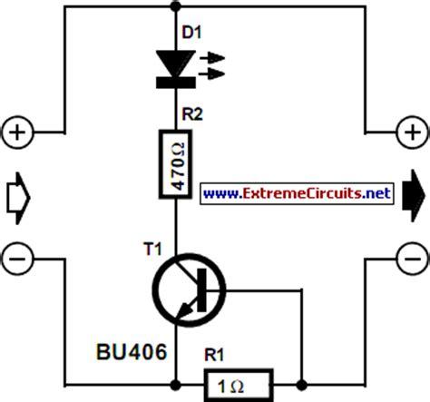 led battery indicator circuit a simple pushpull balance led indicator diyaudio