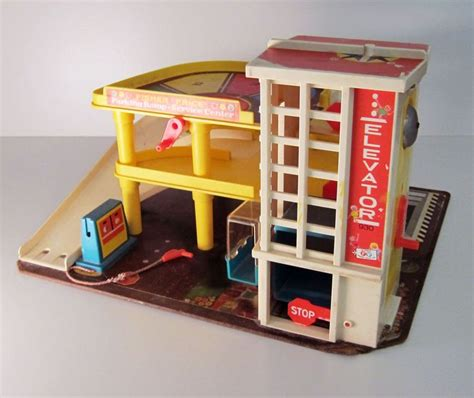 fisher price car garage fisher price garage vintage 1970 toys fisher