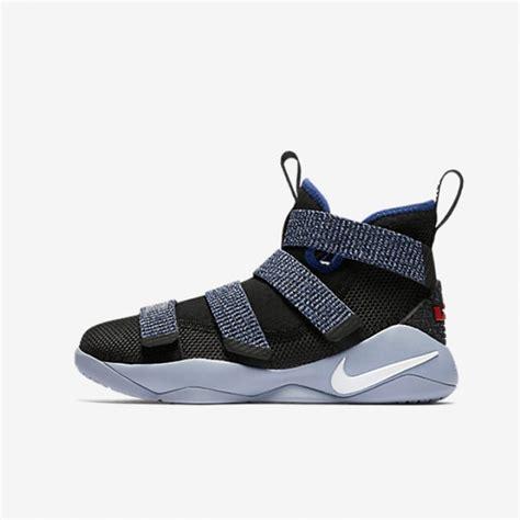Sepatu Basket Lebron 11 jual sepatu basket nike lebron soldier xi bg blue original