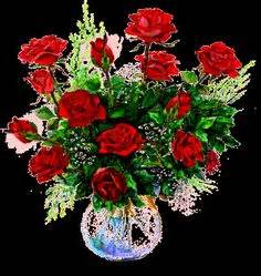 fiori gif 1000 images about bouquet glitter flowers on