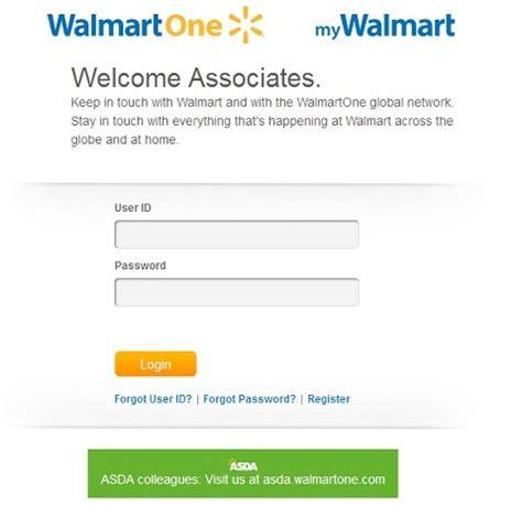 walmart1 login www walmartone associate login