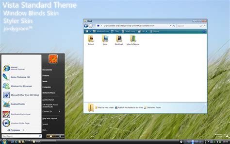 download themes for windows xp 2006 vista standard theme by jordygreen on deviantart