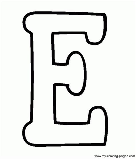 capital letter coloring page coloring capital letters e vbs pinterest coloring