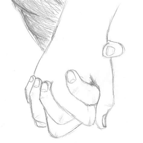 Sketches Holding by Pencil Sketches Of Couples Holding Drawing Artistic