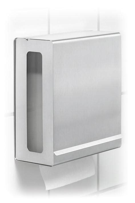 C Fold Paper Towel Holder - wall mounted paper towel dispenser for c fold towels blomus