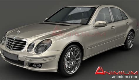 mercedes models mercedes e class w211 3d model free 3d models