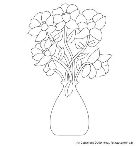 comment dessiner un vase avec des fleurs