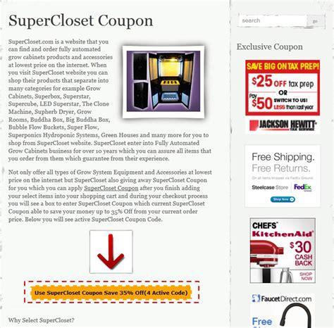 Closet Voucher Code by Supercloset Coupon Code Coupon Code