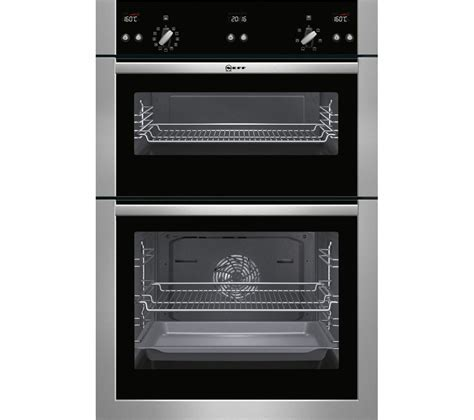 Buy NEFF U15E52N5GB Electric Double Oven   Stainless Steel