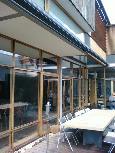 Yarra Shade Awnings - retractable patio electric folding arm awnings yarra