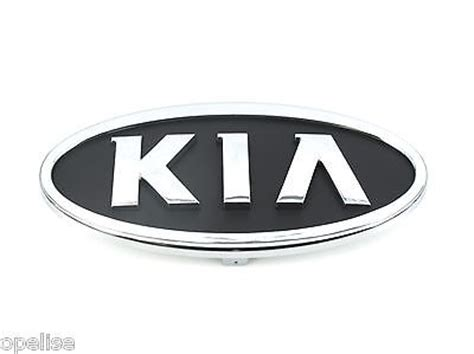 new kia emblem buy kia sportage replacement parts badges and emblems