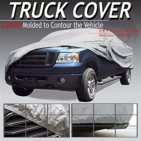 waterproof truck bed cover waterproof pickup car truck cover short bed 6 6 5 ft for
