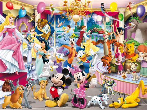 wallpaper of disney characters disney character wallpapers wallpaper cave