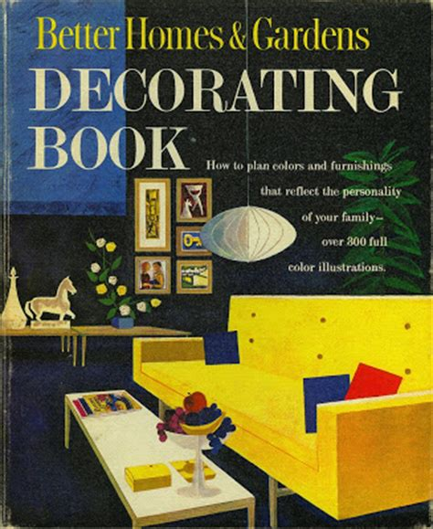 better homes and gardens decorating book kcmodern better homes gardens decorating book cover 1961 modern illustration