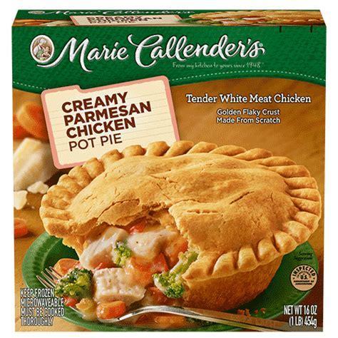Calendars Pies Parmesan Chicken Pot Pie Callender S