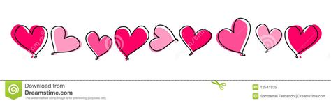 valentines day lines dividers clipart