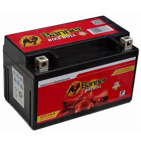 Motorradbatterie Honda Cbf 1000 by Banner Bike Bull Gel Motorrad Batterie Gtz10 4 Ytz10s