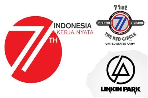 hut indonesia hut ri logo 71 tahun indonesia kental unsur amerika