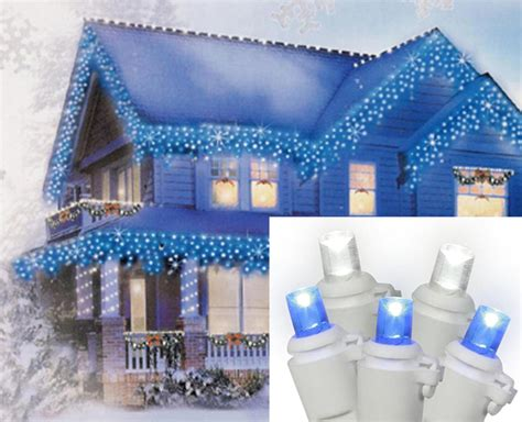 holiday time cool white led icicle lights 225 count holiday time led lite lock christmas icicle lights cool
