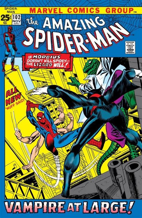 libro spider man blue hc amazing the amazing spider man 102 november 1971 spiderman portadas spiderman y ara 241 a