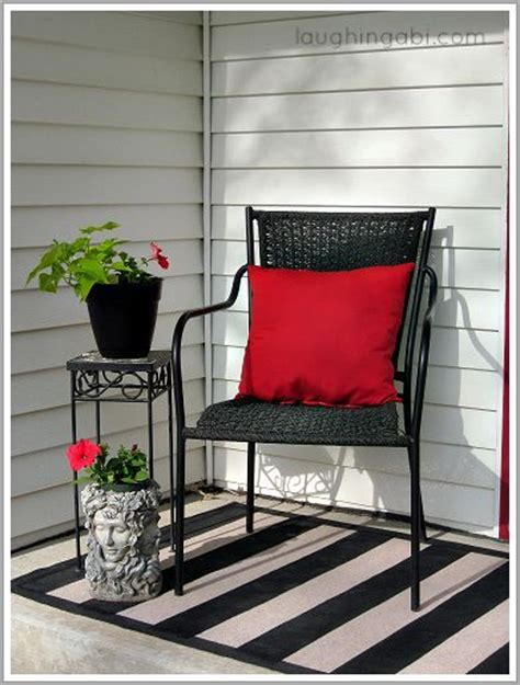 outdoor porch rugs hometalk an inexpensive porch makeover and diy
