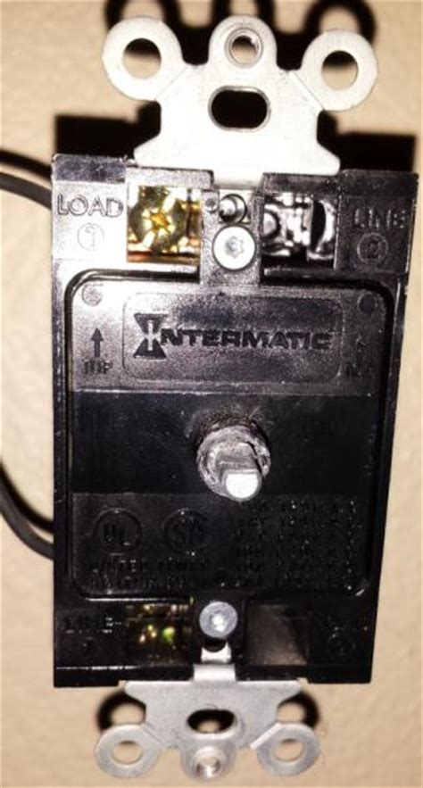 attic fan switch and timer replace mechanical timer for attic fan doityourself com