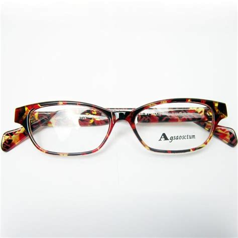 sport s style multi colored eyeglass frame