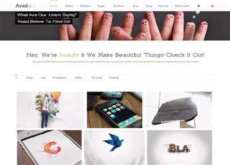 Avada Theme Portfolio Shortcode | avada wordpress theme lovely templates