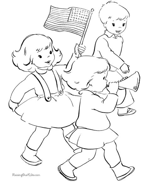 printable patriotic coloring pages sketch coloring page