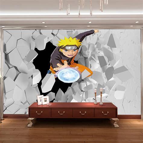 cartoon wall painting in bedroom japanese anime wall mural 3d naruto photo wallpaper boys