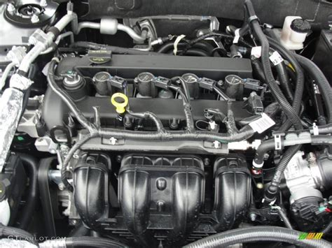 2011 Ford Fusion Engine by 2011 Ford Fusion Se 2 5 Liter Dohc 16 Valve Vvt Duratec 4