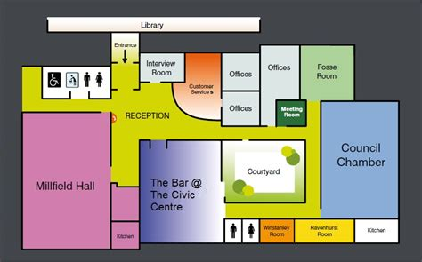 civic center floor plan the best 28 images of civic center floor plan event
