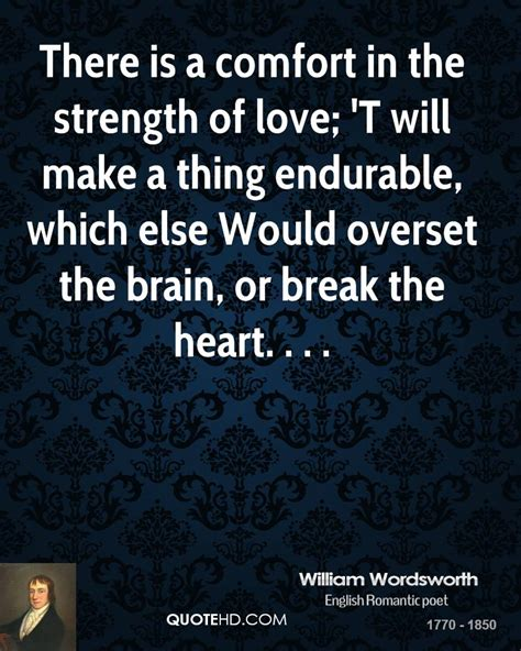 comfort love william wordsworth quotes quotehd