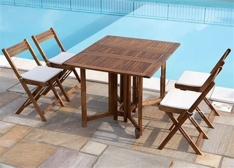 tavoli da esterno richiudibili tavoli pieghevoli foto design mag