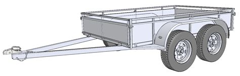 design is one trailer free trailer building plans trailersauce designs info