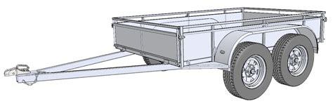 design is one trailer free trailer building plans trailersauce designs info